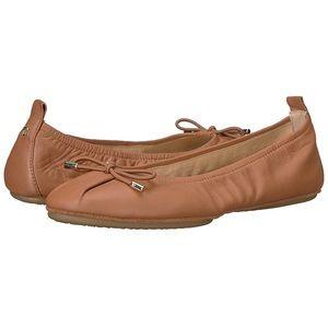[yosi samra] Shiela Foldable Leather Ballet Flat